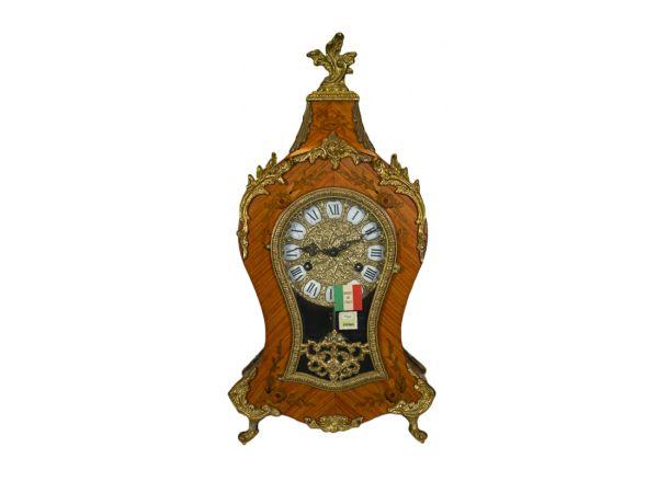 Reloj Pendola in Mosaico di Noce